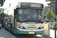 a bus in Sweden