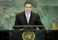 UN Photo Geir Haarde