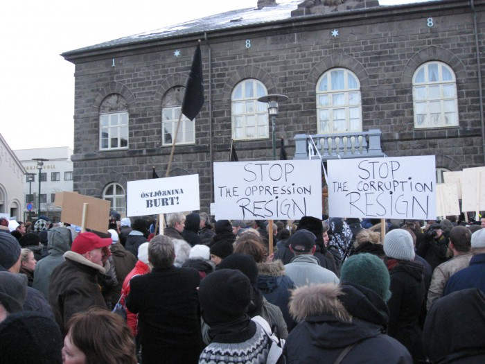 The Bank Collapse in Iceland