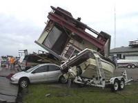 car crash humour