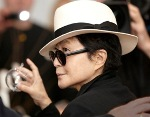 Yoko Ono launches Globe of Goodwill in Iceland