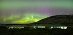 Great Northern Lights sightings at Grímsborgir Guest Houses Iceland