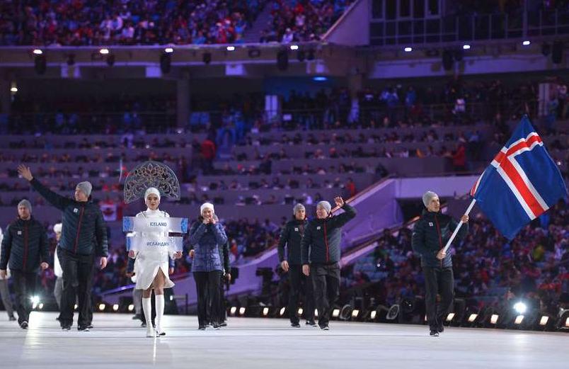 Iceland's Sochi 2014 Winter Olympics team hits the slopes