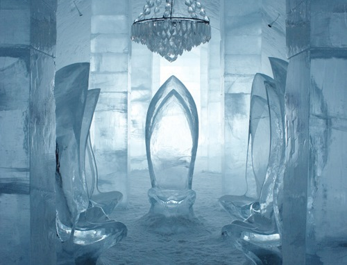 Sweden: Ice Hotel asks guests to design rooms