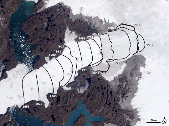 Greenland's ice sheet rapidly melting and unstable