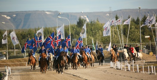 Landsmót horse show labeled as a favourite amongst family activities in Iceland