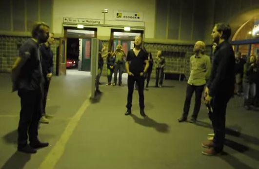 Icelandic train station band a huge YouTube hit