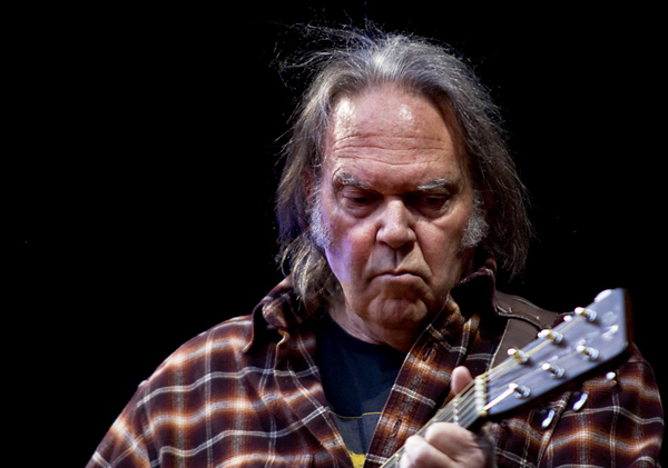 Neil Young performs in Iceland for first time ever