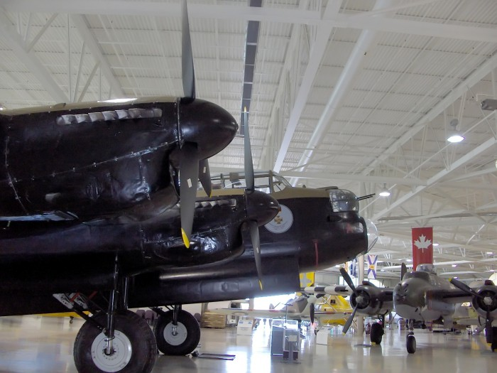 Iconic Canadian Warplane lands safely in Iceland's Keflavik Airport