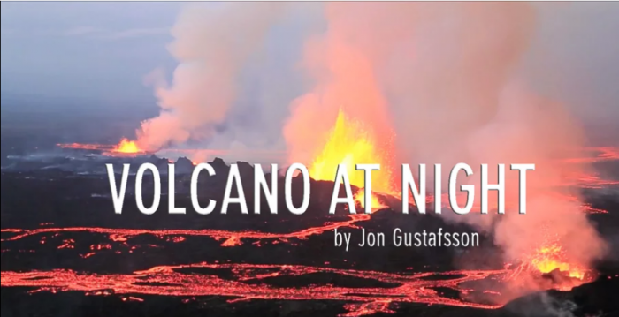 Volcanic eruption in Holuhraun continues