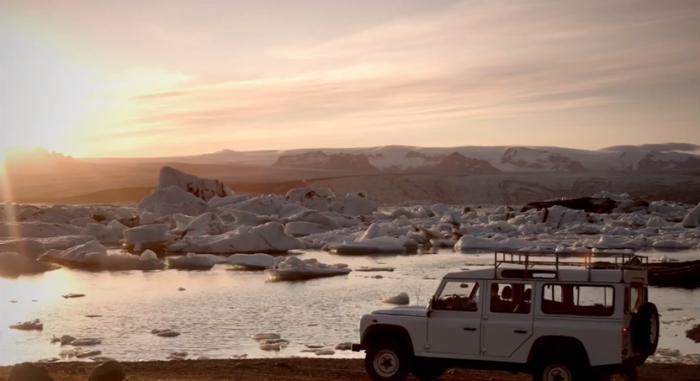 Wonders of winter driving in Iceland captured in YouTube video series