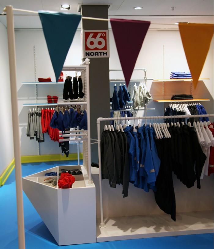 66 NORTH opens new children's clothing store in Illum, Copenhagen