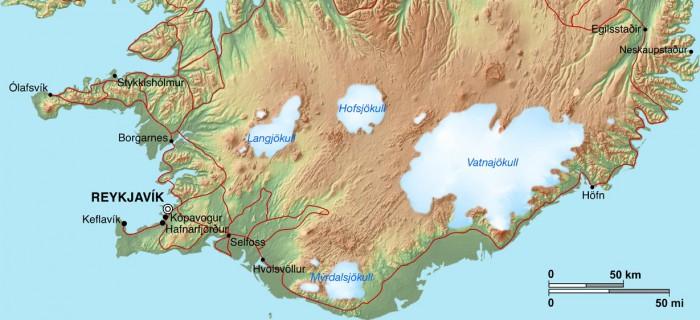 New satellite images show Iceland's shrinking ice caps