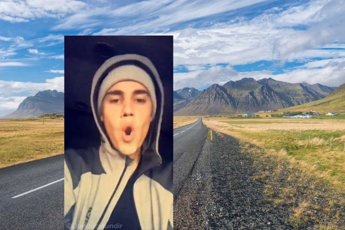 Justin Bieber takes Iceland by storm – Appropriately dressed