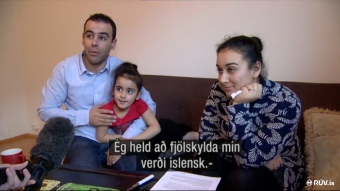 Becoming Icelandic – A family from Syria