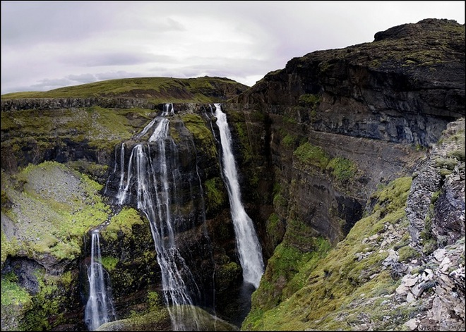 Hiking in Iceland – destination Glymur waterfall