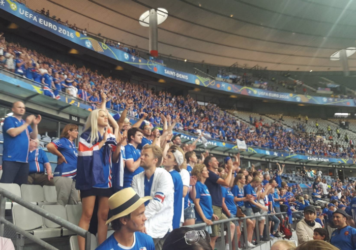 Football: Thoughts about the Iceland England game