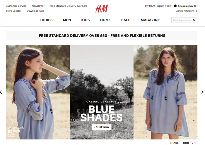 H&M to open three stores in Iceland