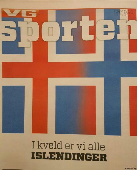 VG Sporten Islendinger