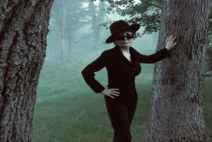 "Yoko Ono gets ""A Single Plum, Floating in Perfume, Served In a Mans Hat"" amongst 12 works from Icelandic artists (Video)"