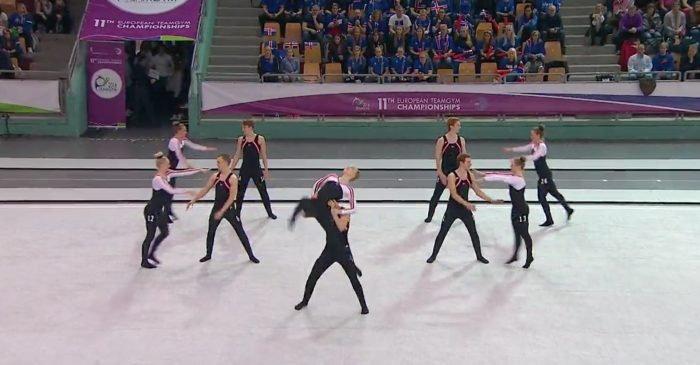 The Icelandic gymnastic teams bring home the gold, silver and bronze from the European Championships