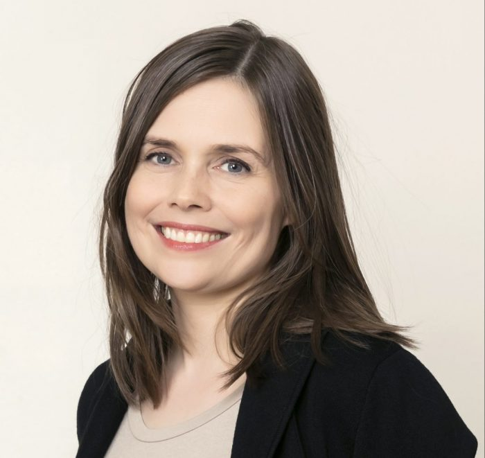 The president summons Katrin Jakobsdottir of the Left Green party