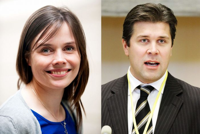 Left and right government coalition brewing in Iceland