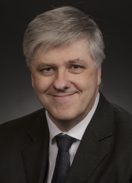 Benedikt Johannesson chairman of the Reform party