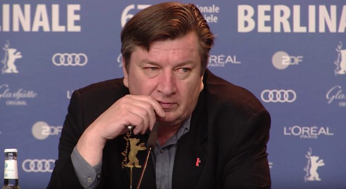 Director Aki Kaurismäki takes the Silver Bear at the Berlinale – jokes about Iceland no more taking over Europe than Islam (Video)