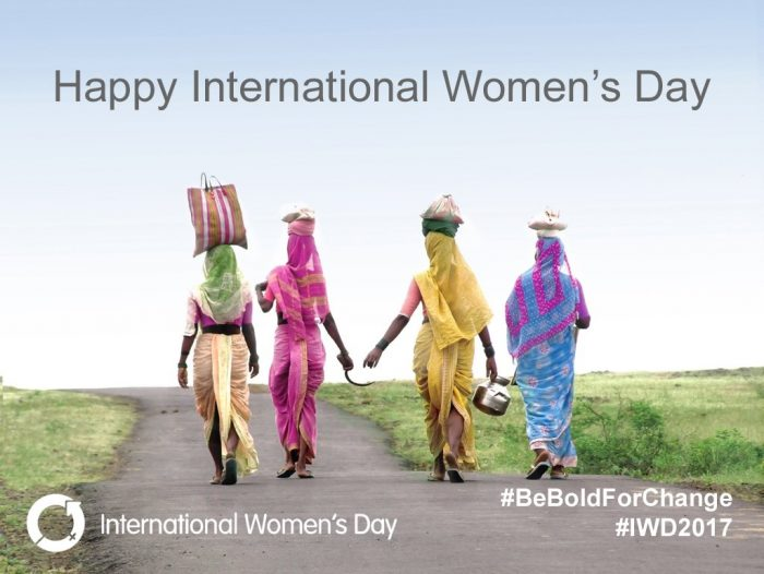 #BeBoldForChange – International Women's Day 2017