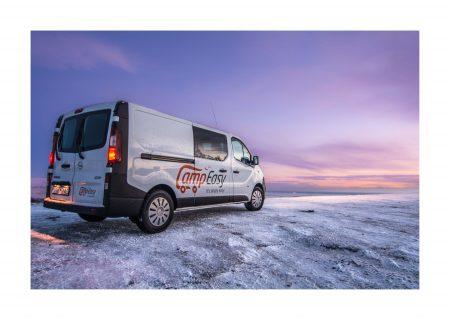 Campeasy campervans in Iceland