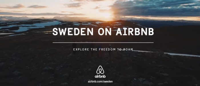 Sweden lists entire country on Airbnb – Freedom to roam act makes it possible
