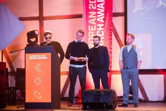 The Engine receives prestigious European Search Awards for Skyr campaign