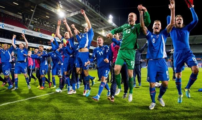 The Croatian obstacle is out of the way! Iceland won with last minute goal