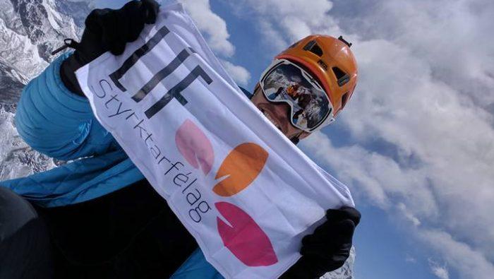 John Snorri goes for K2's summit in 9 days