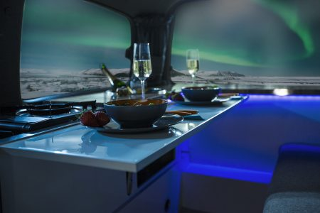 The Aurora explorer northern lights camper