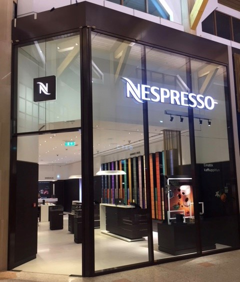 Nespresso opened its doors for the first time in Iceland