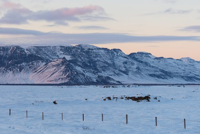 Hítardalur Valley landslide: A bird's eye view
