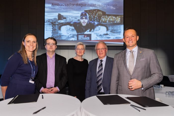 Meet in Reykjavík signs a partnership agreement with three more universities