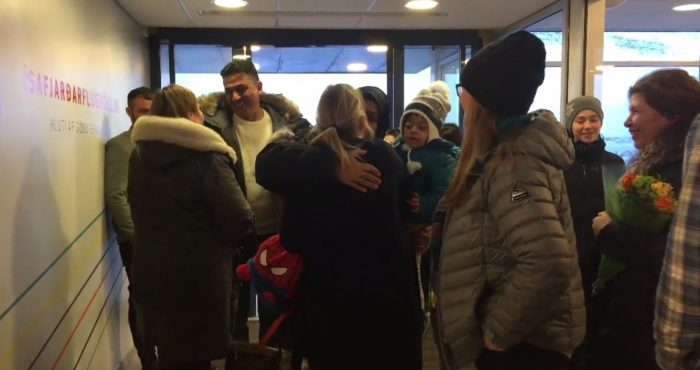 Man assumed dead reunited with family in Iceland