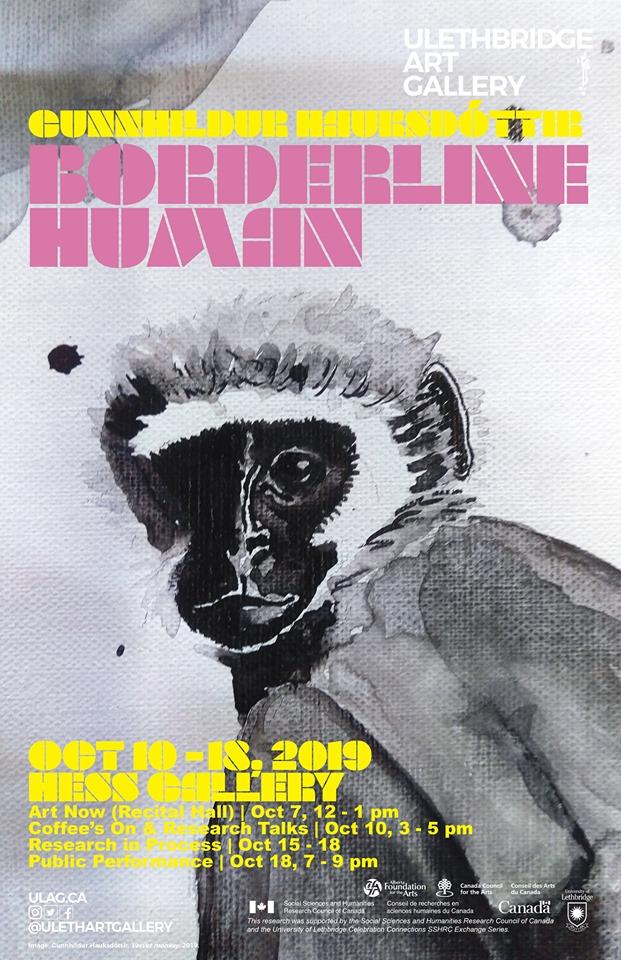 Artist Gunnhildur Hauksdottir exhibiting in Canada
