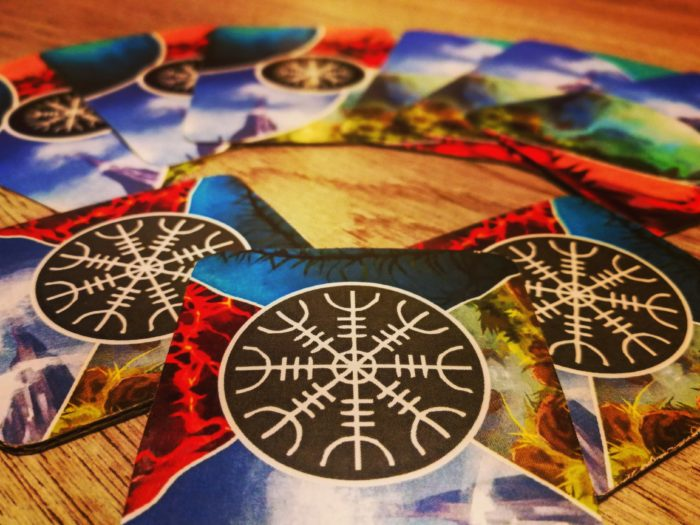 Mythical Iceland, a new family board game