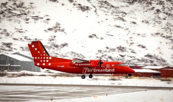 This is Greenland's little red lifeline during the COVID-19 crisis