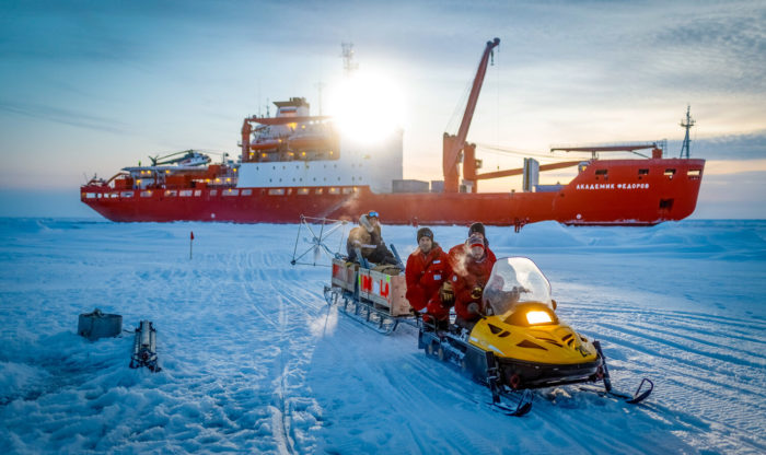 Ground-breaking science research in the Arctic