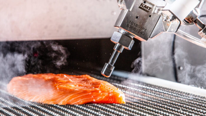 Valka brings a new way of thinking to salmon fillet portioning