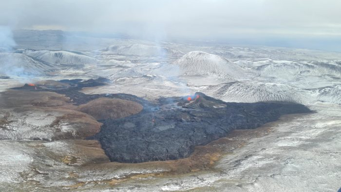 Iceland Volcano: Third fissure opens up