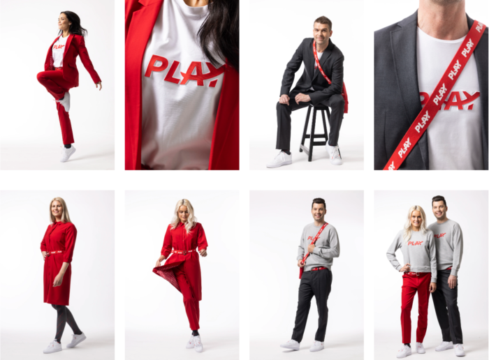 Icelandic Airline Play showcases new uniforms