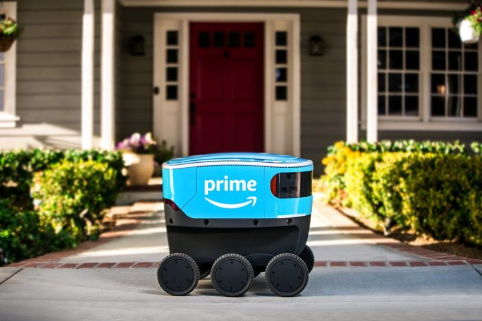 Finland plans to develop Amazon delivery robot technology